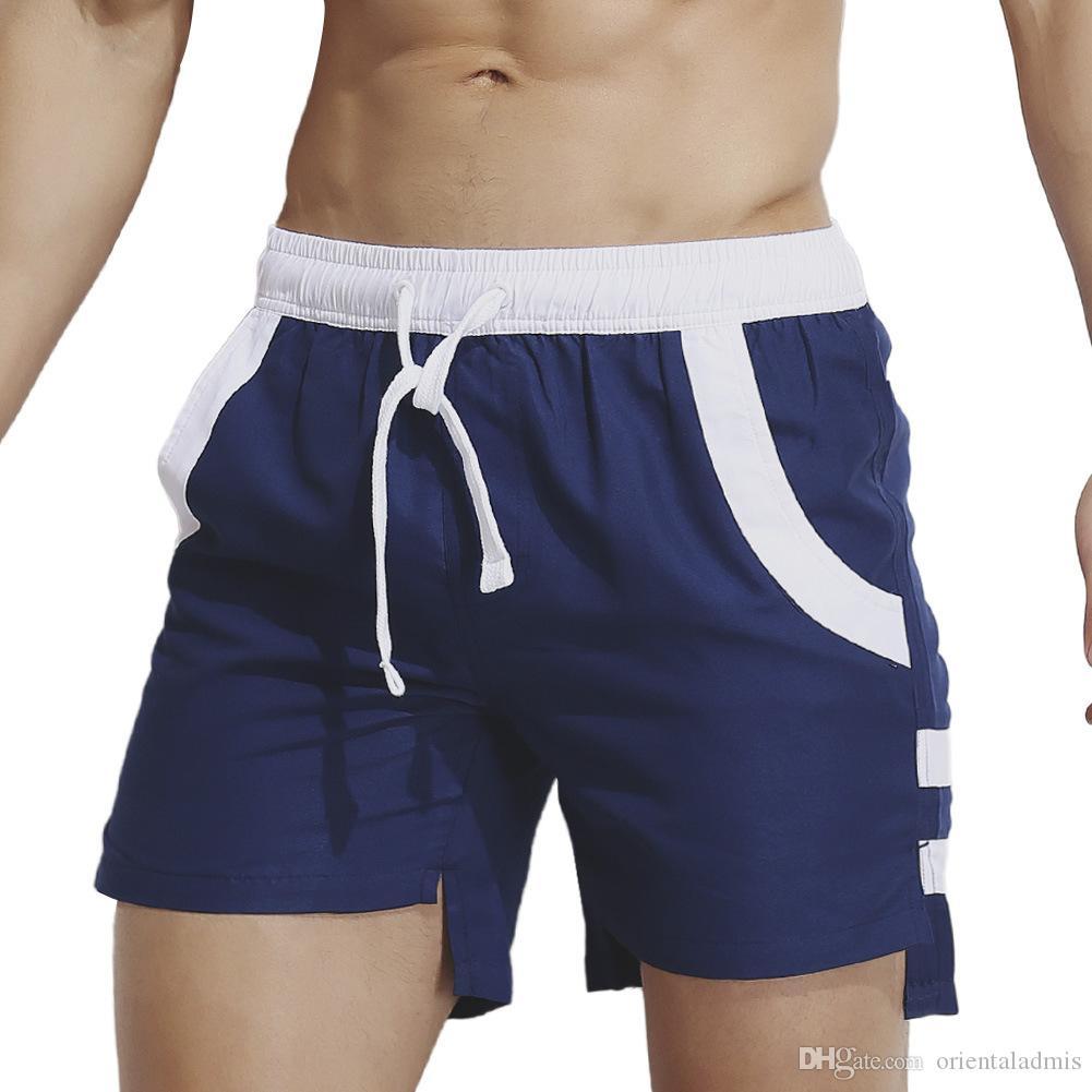 #SP0820卸売夏のファッション服メンズアクティブなクイックドライスポーツランニングラウンジウェア因果描画ショーツ