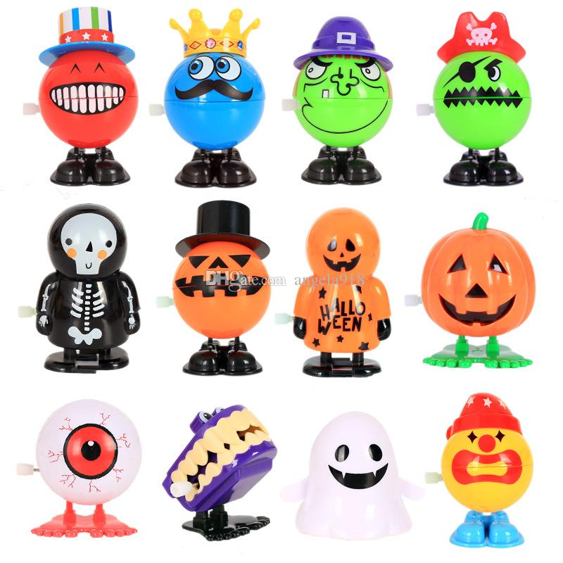 Halloween Funny Action Figures Eyeball pumpkin witch ghost Skull Model decoration toys Kids halloween Decoration C5148