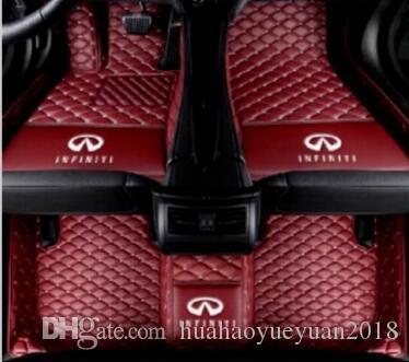 G37 JX35 Q50 Q60 Q60 QX30 QX30 QX56 QX60 QX60 QX70 QX80-Veloster tapete do assoalho Do Carro