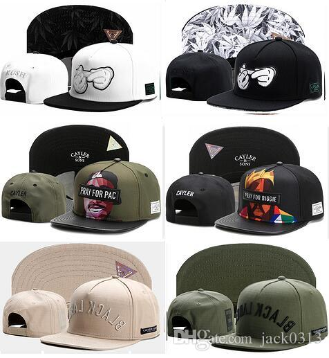 Good Selling 2018 wholesale cayler and sons snapback hats casquette bone sport cap men snap back dad hat baseball Adjustable basketball caps