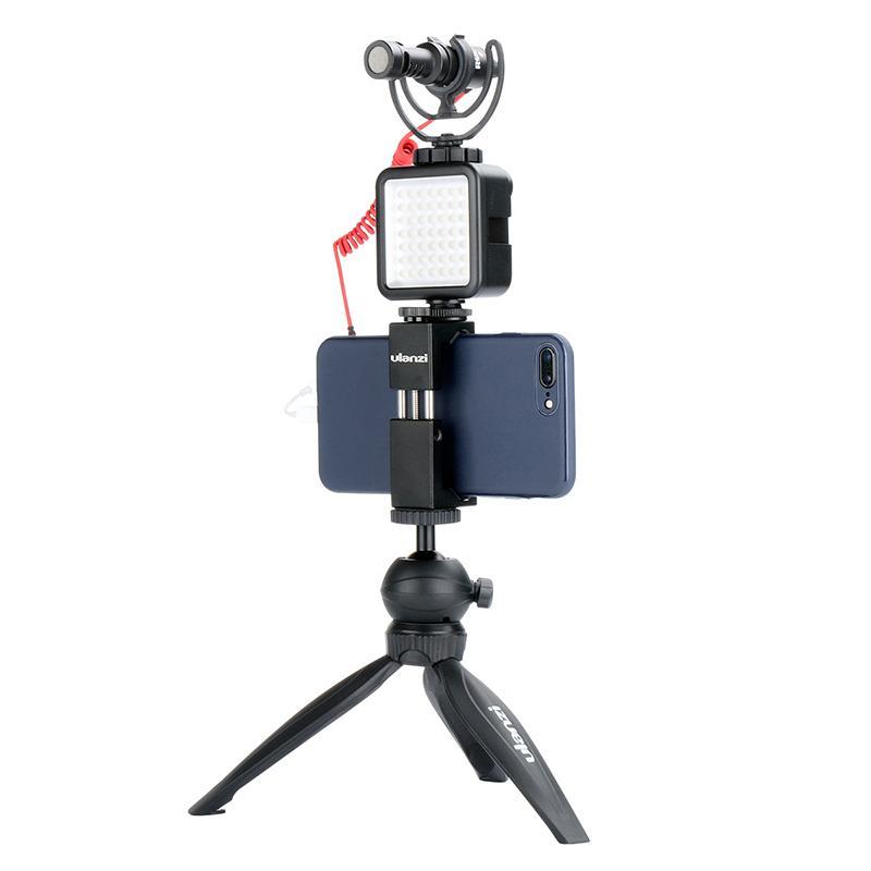 vente en gros ultra lumineux 49 LED vidéo lumière avec 3 chaussures chaudes dimmable portable haute puissance panneau vidéo lumière pour Canon Nikon smartphone