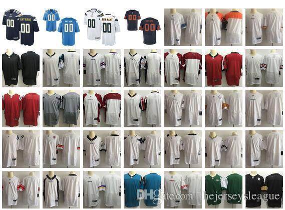 New American Football Jerseys All 32 Teams Stitched Mens Womens Youth Custom Any Name Any Number Personalized S-4XL Mix Match Order