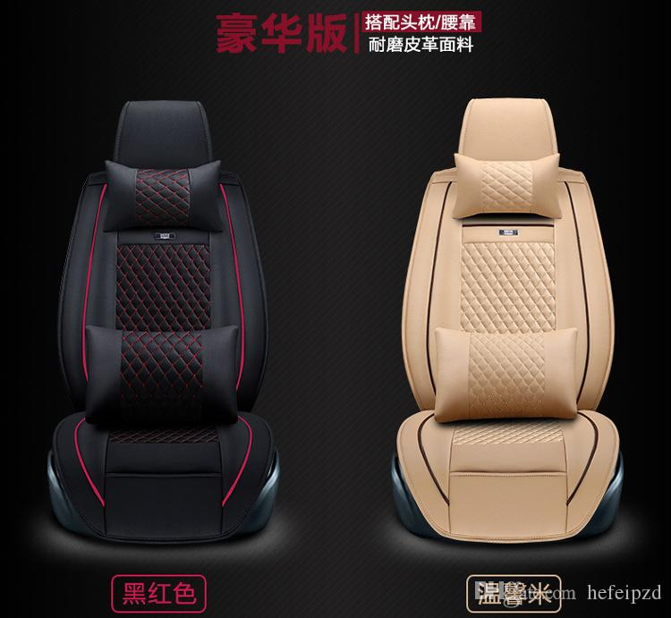 Soccer Ball Style Full Set Car Seat Covers Universal Interior Accessories Red