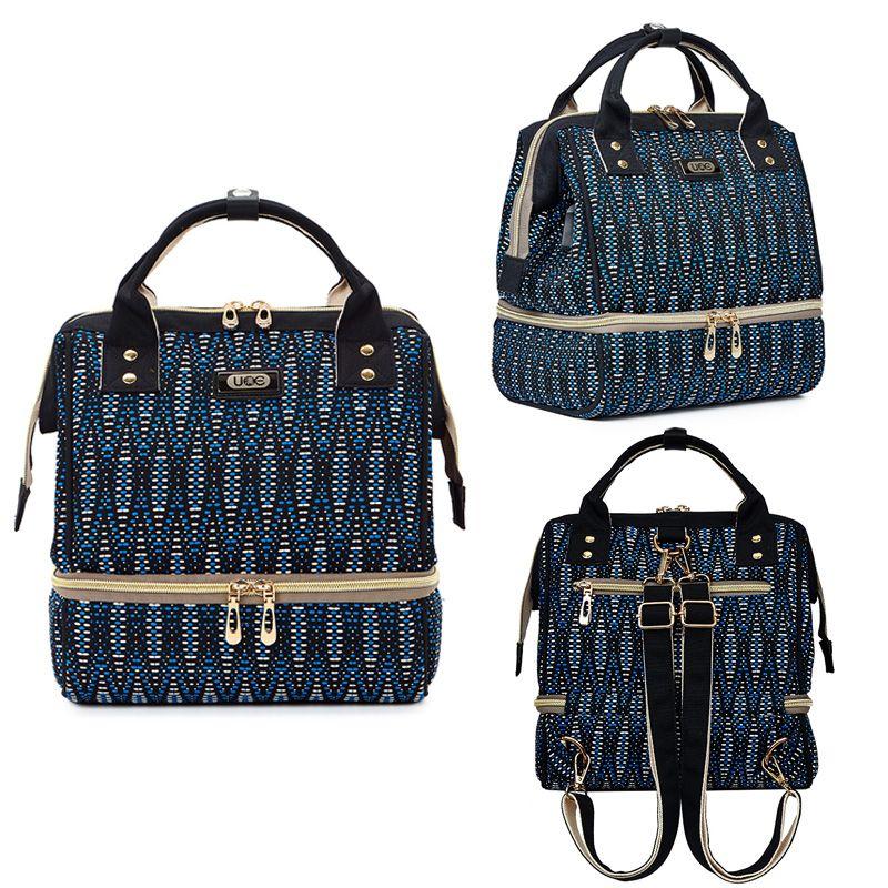 الأزياء مومياء حفاضات حقيبة USB شحن السفر الأمومة حقيبة الظهر للأم الحفاض تغيير أكياس التمريض حقيبة لرعاية الطفل