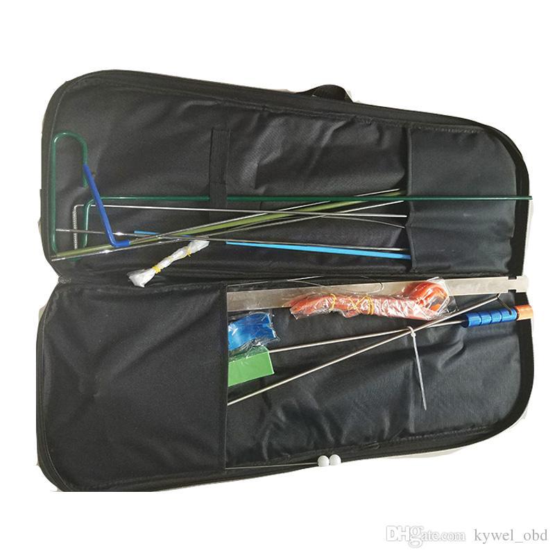 2018 Новый Klom авто дверь быстро открыть комплект инструмент автомобильный слесарь инструмент сумка двери автомобиля отмычку набор с сумкой