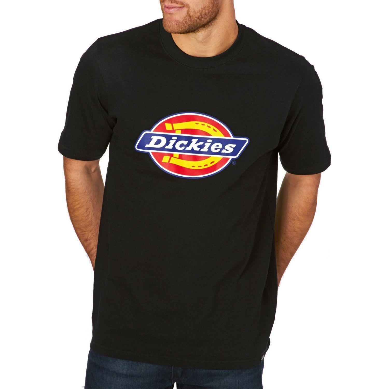 Dickies Mens T-Shirt Horseshoe XXL Red