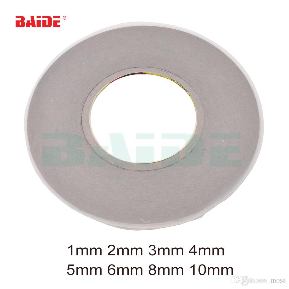 Length 50 meter Width 1mm/2mm/3mm/4mm/5mm/6mm/8mm/10mm Transparent 3M Double-Sided Adhesive Tape For Phone Touch Screen Lcd Sticker