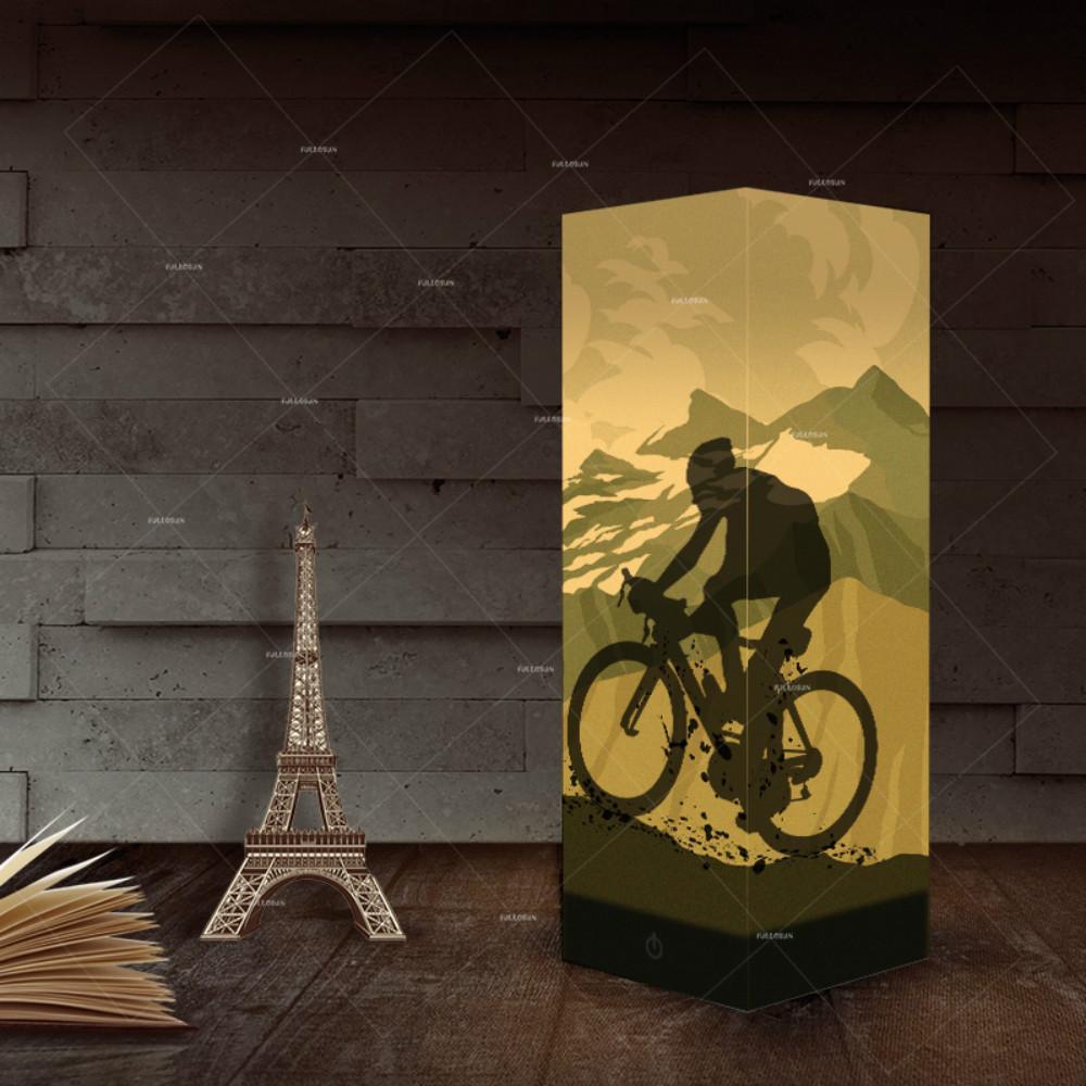 Riding Bike Night Light LED USB 3D Lamp For Home Decor Mountain Bike Lovers Table LED Light as Gift for Kids Wholesale Dropshipping