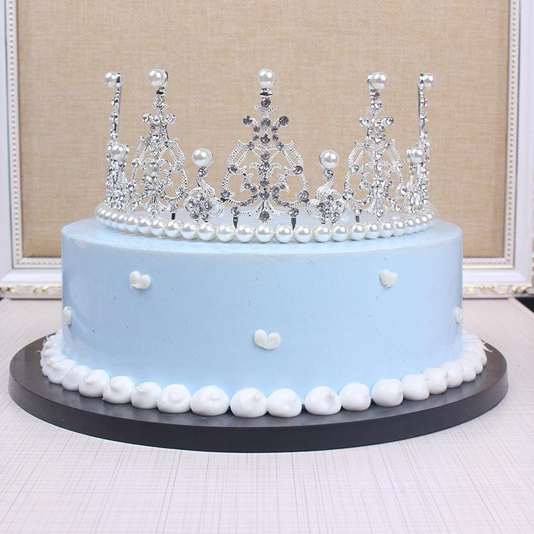 Excellent Baby Bridal Crown Cake Decorating Birthday Party Wedding Roast Funny Birthday Cards Online Inifofree Goldxyz