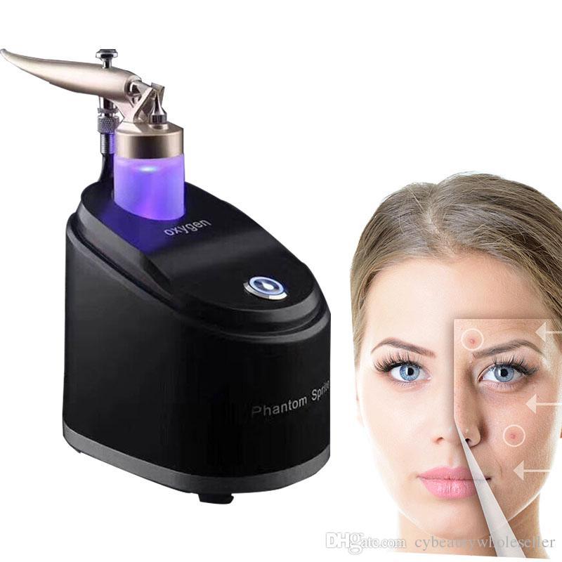 Портативный кислородный распылитель инъекции воды впрыскивают Гидрат увлажняющий омоложение кожи кислородная инфузия спа уход за лицом массажер
