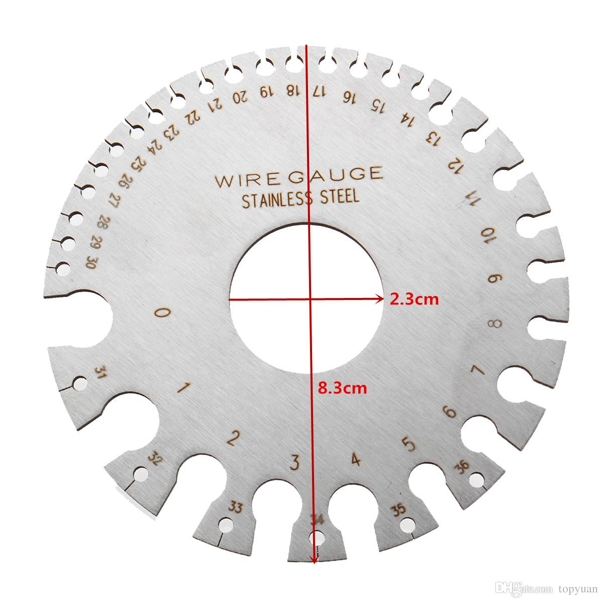 Wire Gauge Thickness Measuring Tool Wire//Sheet Metal Gage Measurement LB