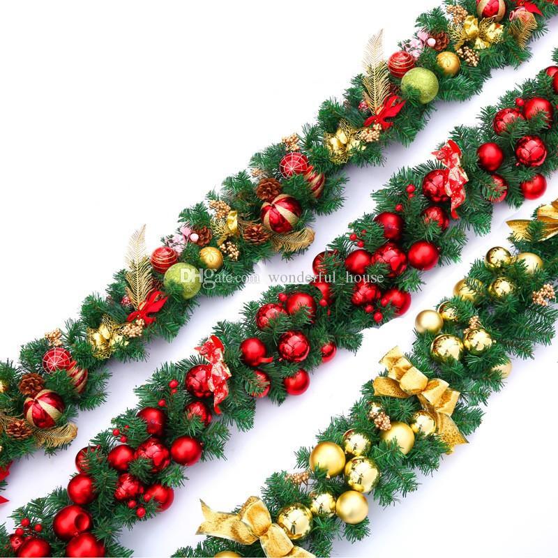 Christmas Garland 2 7m 12 Designs Christmas Tree Wreath Xmas Party
