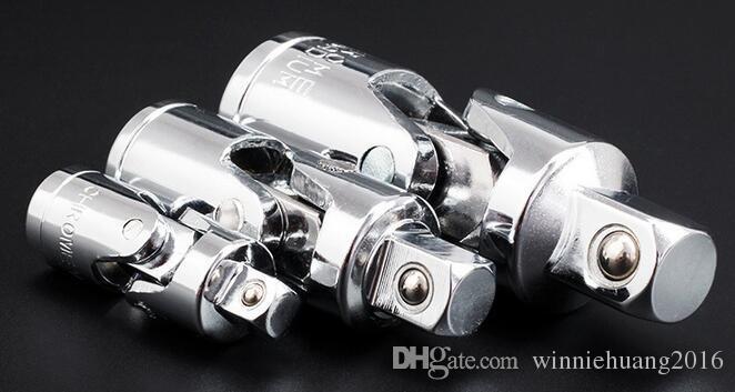 """Wysokiej jakości 3 Sztuk / zestaw Uniwersalny Zestaw Złącza Ratchet Regulacja regulacji Gniazdo Kluczki Gniazdo Adapter 1/4 """"3/8"""" 1/2 """"Naprawa narzędzia ręczne"""
