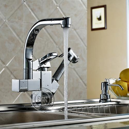 2019 Kitchen Faucet Kitchen Pull Tap Single Handle Double Outlet Tap Large  Orders Best Selling Hot Multifunctional Faucet From Calars, $104.69 | ...