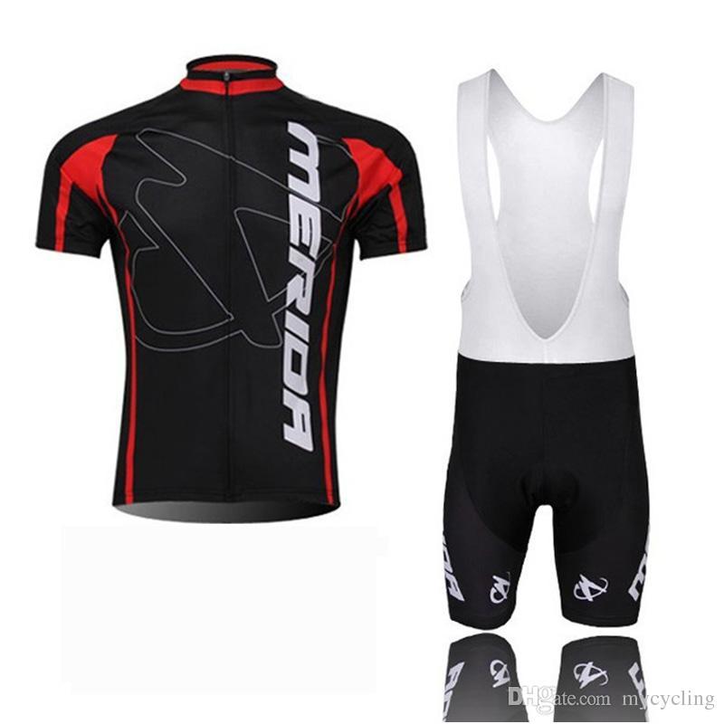팀 메리다 남자 사이클링 저지 정장 여름 퀵 드라이 레이싱 자전거 사이클링 의류 통기성 MTB 자전거 옷 스포츠웨어 Y21040613