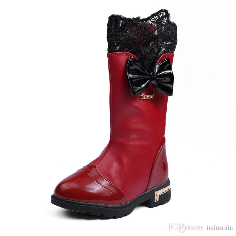 girls boots size 1