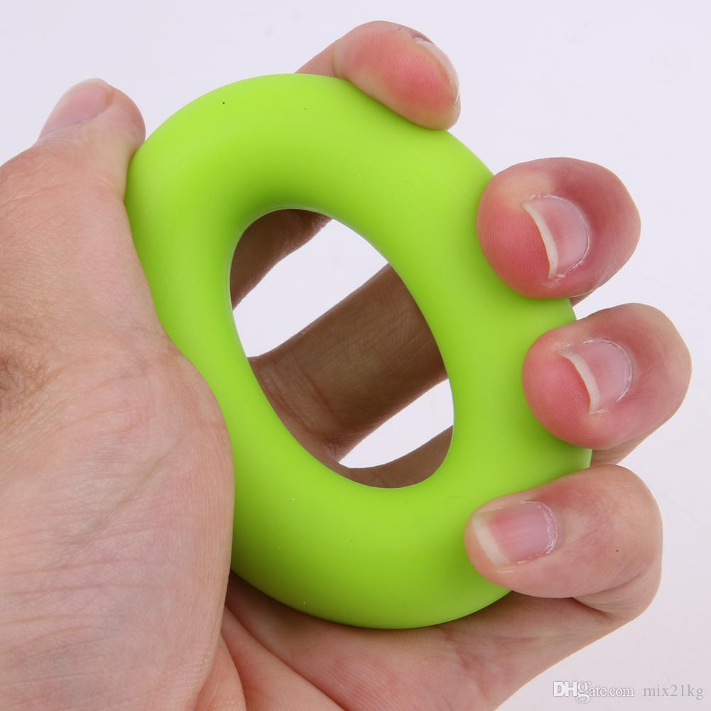 7см прочность рукоятки Кольцо мускульной силы Обучение резиновое кольцо Тренажер Gym Expander Gripper 20кг 30кг 40кг палец кольцо