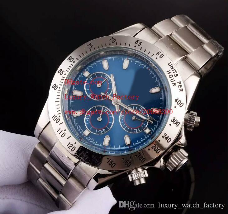 4 стиля заводские поставщики Только поставщик высокое качество наручные часы Sapphire 40 мм 116520 автоматические механические мужские мужские часы без хронологии 116610 116613