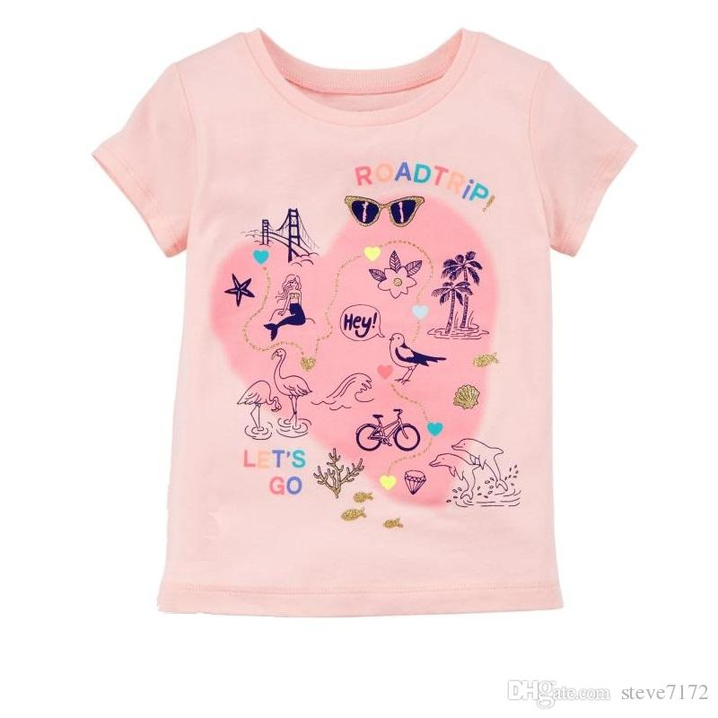 2021 Wholesale Pink Baby Girl T Shirts Summer Newborn Tops 100% Cotton Baby Girls  Tees Clothes Top Quality Soft Infant Blouse Tees Kid Outfits From  Steve7172, $70.36 | DHgate.Com