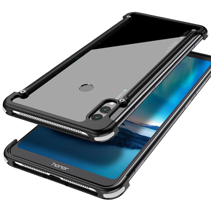 Huawei Honor Note 10 명예 메모 10 Coque 용 케이스 알루미늄 금속 범퍼 케이스