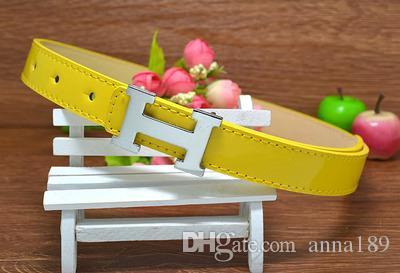 New Top Quality Childrens Belts Brand Design Children's Waist Belts For Pants Trousers Girls Jeans Belt Metal Buckle 0310