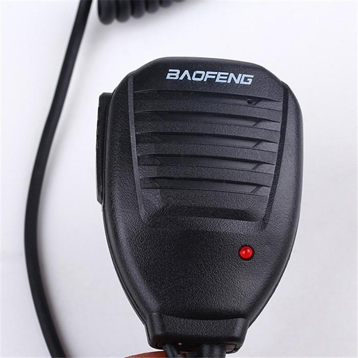 Original Portable Baofeng Speaker MicMicrophone Dual PTT for CB Two Way Radio UV-82 UV-82L UV-8 UV-8D UV-89 Walkie Talkie (3)