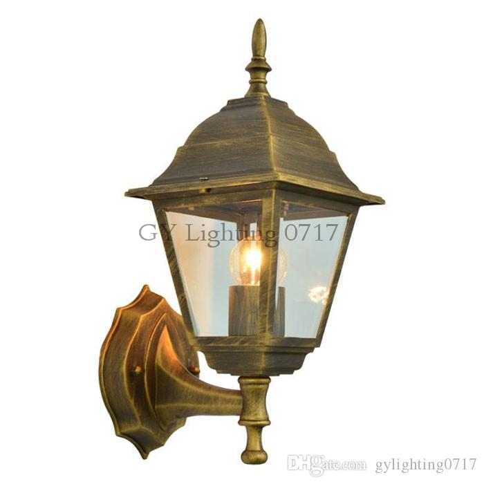 new style a90ca 9ffad European Style Wall Lamp Retro Outdoor Porch Light Balcony ...