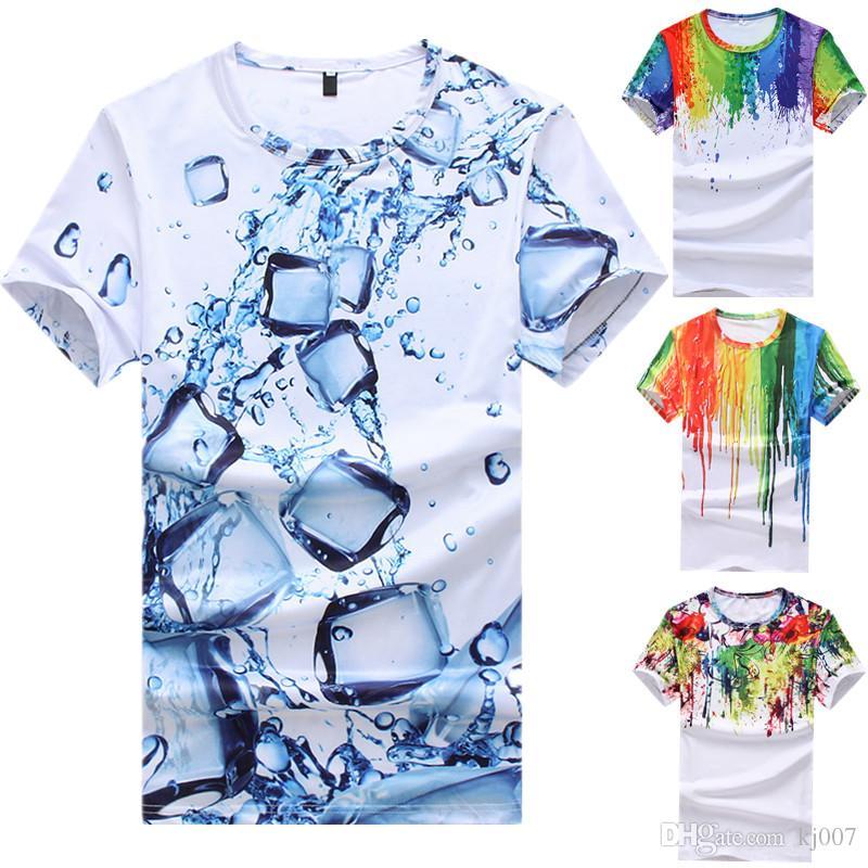 Размер штекер мужской поп-пейсли футболки лето хлопок кнопки футболки новое поступление с коротким рукавом поло высокое качество оптом личность напечатаны