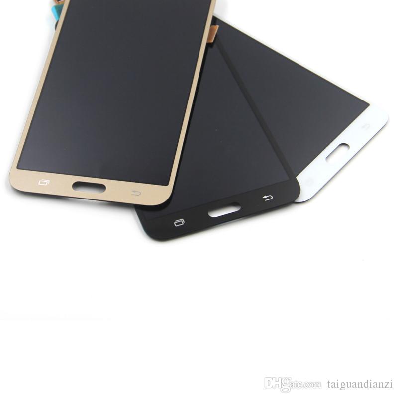 J700 pantalla para Samsung para Galaxy J7 2015 J700 J700F J700M J7 LCD con pantalla táctil Asamblea digitalizador, envío gratis