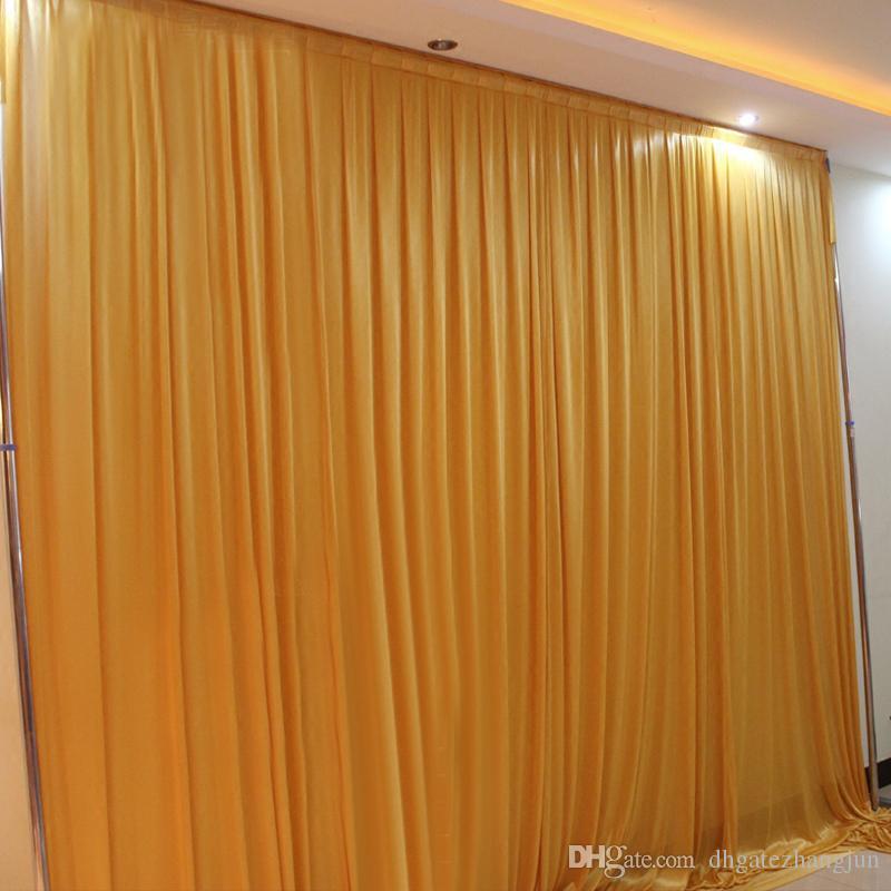 Красочные свадебные фон занавес вечерняя партия декор индивидуальный фон свадьба фон шелковый драп украшения для сцены