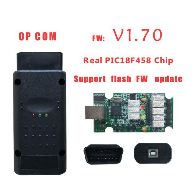Op-COM OBD2 Cable z PIC18F458 Chip najlepszy jakość OP COM V1.7 Najnowszy skaner wersji