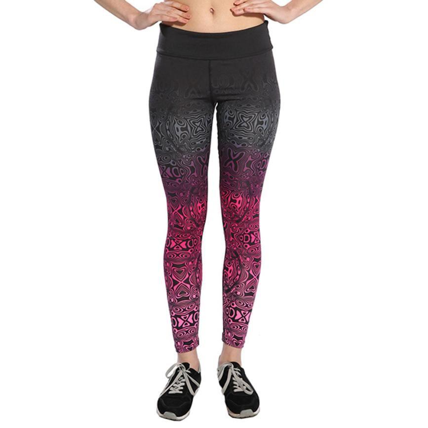 Mooistar # W003 Pantalon Femme Taille Haute Leggings Fitness Pantalon