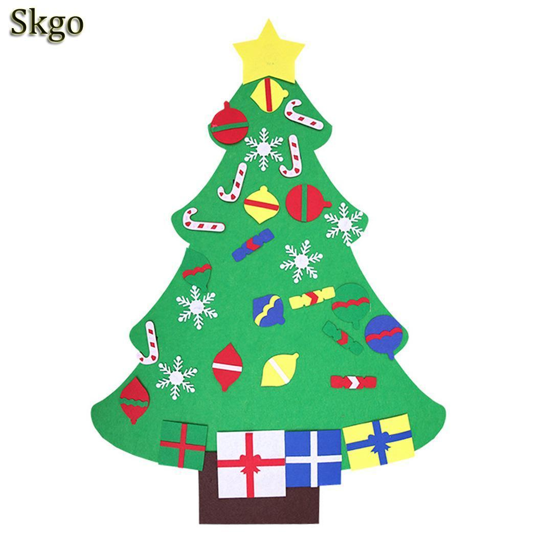 Toys Tree Puzzle TypeB Christmas Over Decorations TypeC Stereo 3 DIY Old Years TypeA Children Christmas Handmade