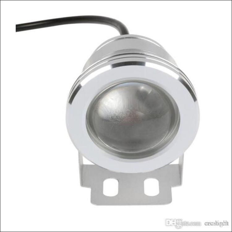 10W LED luce subacquea LED acquario luci warterproof DC AC 12V 24 chiave telecomando IR waterr proof IP68