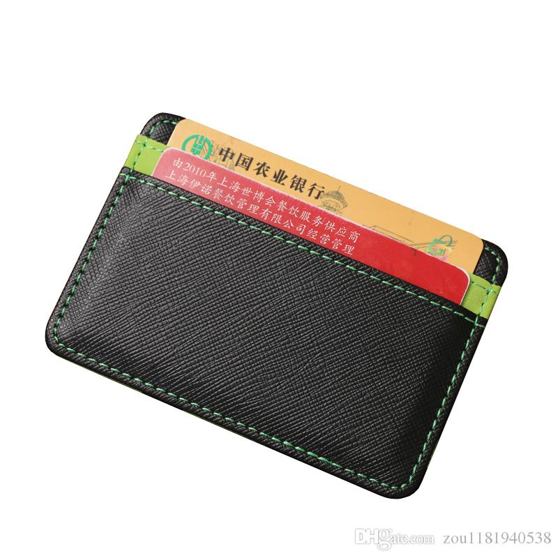 Hot Sale New High-quality Design Fashion Casual College Style Magic Purse PU Leather Men Wallet Credit Card Holder Men Magic Wallet