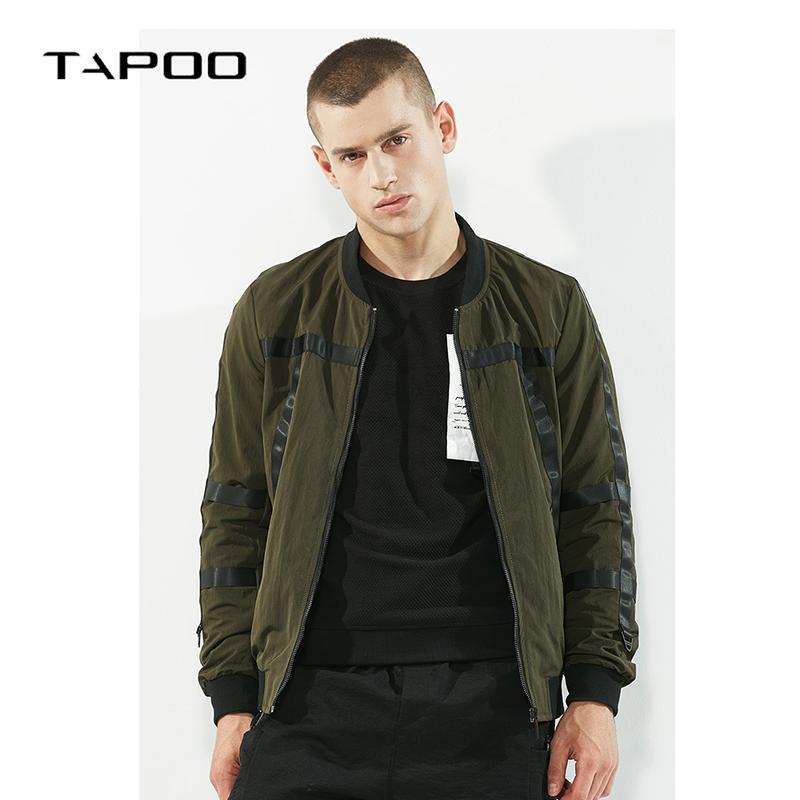 Blusão de verão dos homens jaqueta Casual gola Hip hop outono Slim fit homem jaqueta bomber camuflagem homens
