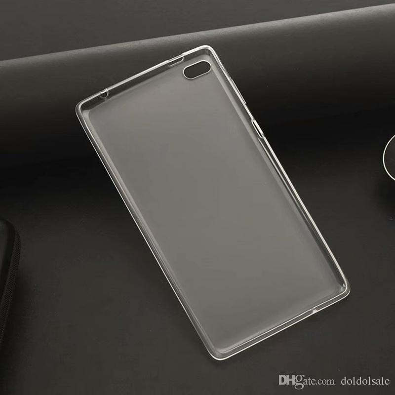 10pcs Soft TPU Back Cover Case for Lenovo Tab 4 7 inch TB-7504 TB-7504F TB-7504X TB-7504N TB-7504I 7 inch Tablet + Stylus Pen