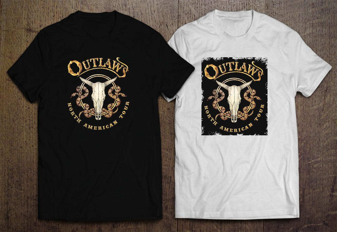 The Outlaws Southern Rock Band Logo Tank Top Mens