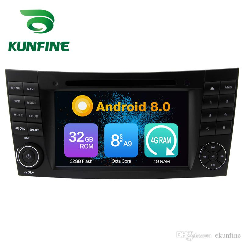 Octa Core 4GB RAM Android 8.0 Car DVD GPS Navigation Multimedia Player Car Stereo for Benz E-Class W211 2002-2008 Radio Headuint Wifi