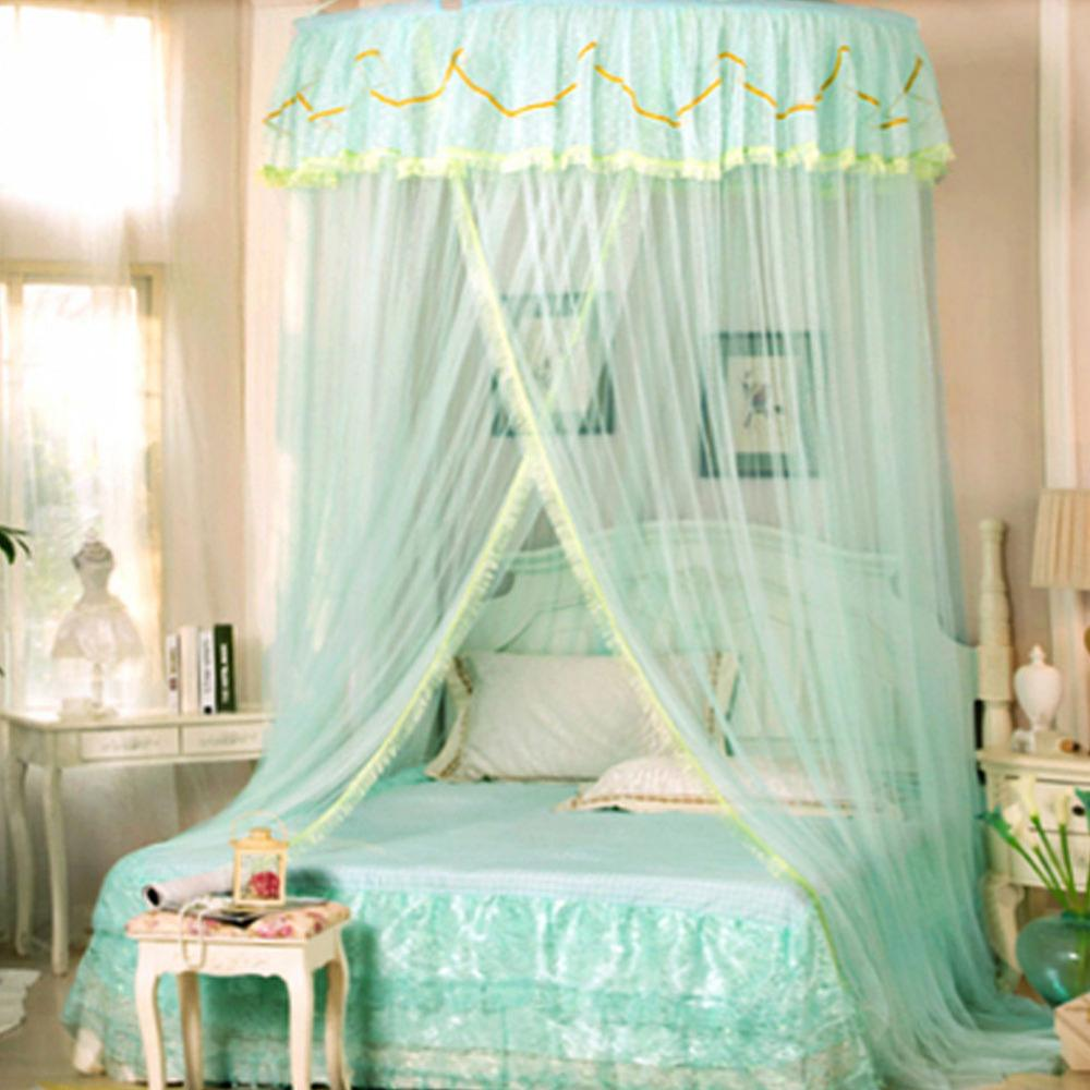 King Size Floral Princess Bed Canopy Mosquito Net Netting Bedroom Mesh  Curtains Sleeping Net Free Standing Mosquito Net From Hymen, $37.2   DHgate.Com