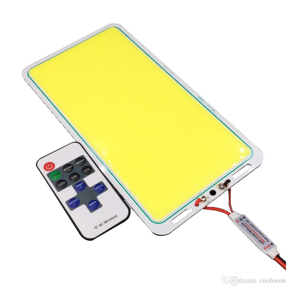 220 * 113mm COB Светодиодная панель Светодиодная диодная чип на борту 12 В 200 Вт Светодиодная лампа COB для DIY Автомобильное освещение