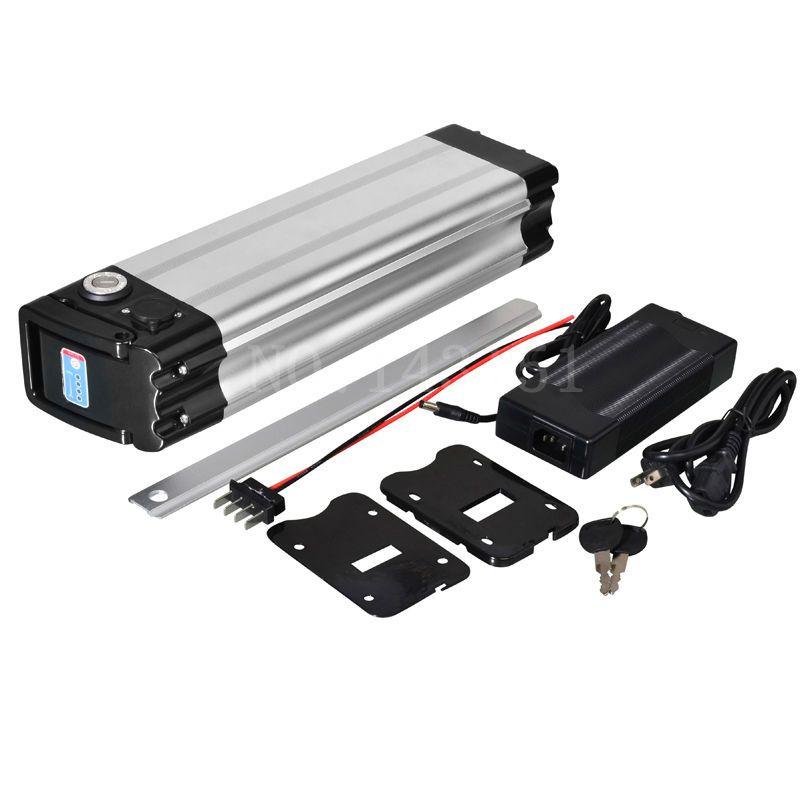 Brak podatków dolny rozładowanie 36 V 15AH rower elektryczny Srebrny bateria ryb dla 500 W bateria litowa bateria aluminiowa z ładowarką