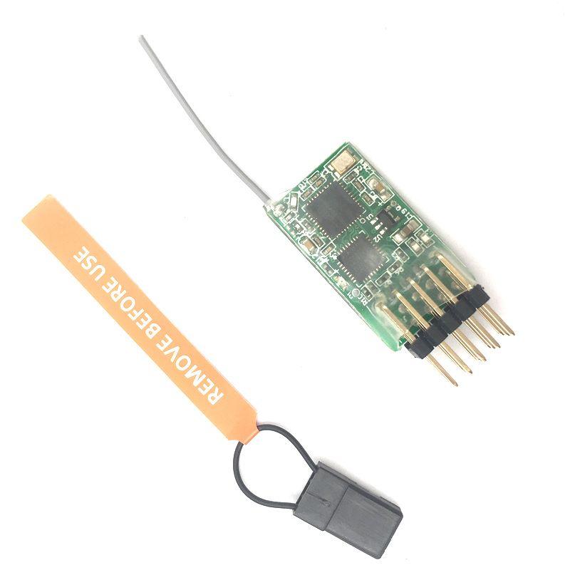 4100E MICROLITE 4CH DSM2 Alıcı, Destek DSX7 / DSX9 / DSX11 / DSX12 ve DX6i / DX7 / DX8