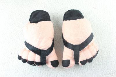 pantofole di cotone caldo inverno caldo peluche pantofole BigFoot per le donne