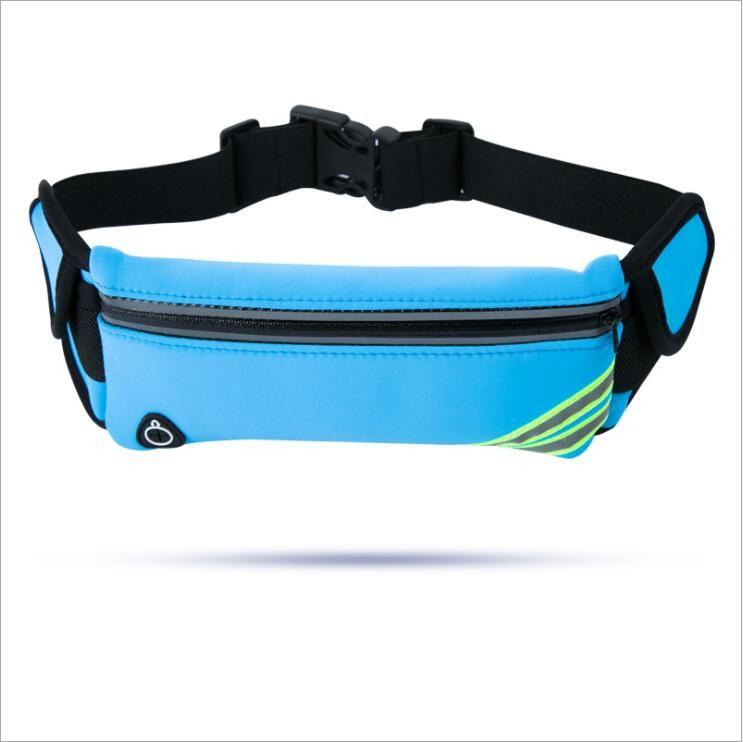 Outdoor Running Travel Sports Pocket Mobile Phone Bag Waterproof Personality 6plus Multi-functional Men and Women Marathon Belt