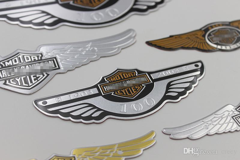 Satin Al Evrensel 3d Motosiklet Rozeti Amblem Sticker Oto Logo