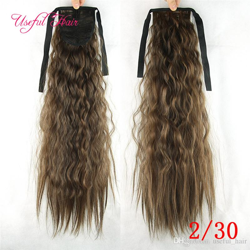 hair extensions Pony Tail Hairpieces Drawstring Ponytails comb ponytail curly blonde hair extension clip in hair extensions for black women