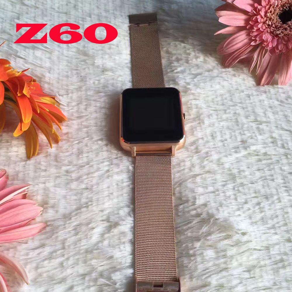 Bluetooth Smart Watch Smartwatch Z60 Android Phone Call Relogio 3G GSM SIM TF Card Camera For IOS iphone Xiaomi Huawei PK DZ09