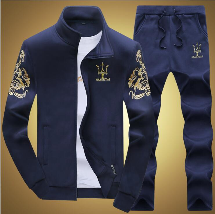 low cost designer fashion hot sales Großhandel Designer Trainingsanzug Herren Luxus Sweat Suits Herbst Marke  Herren Trainingsanzüge Jogger Anzüge Jacke + Hosen Sets Sport Anzug Hip Hop  ...