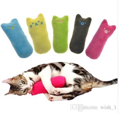 1pcs bello stile interattivo fancy catnip gatto giocattolo cuscino digrignare artigli per animali domestici giocattoli divertenti